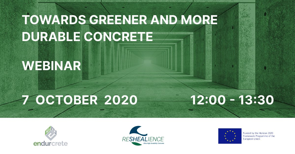 Don't you know our pilot yet? Hop on our raft through the virtual video tour of #ReSHEALiencePilot3  Today!! October 7th, 12:00-13:30 Where? In the webinar co-hosted by @ReSHEALience and @Endurcrete_eu project Free registration 👉 https://t.co/oWgPhgGgQD… https://t.co/6VD2FOjOp7