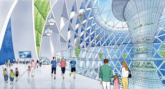近未来都市って言われて右を想像する人と左を想像する人の比率が知りたい。この2つの未来像ってかなり断絶があると思うんですよね