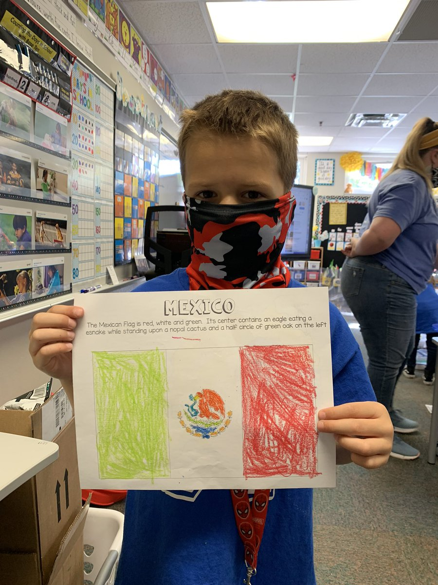 1st graders enjoyed learning about Mexico to celebrate Hispanic Heritage month. #misdproud