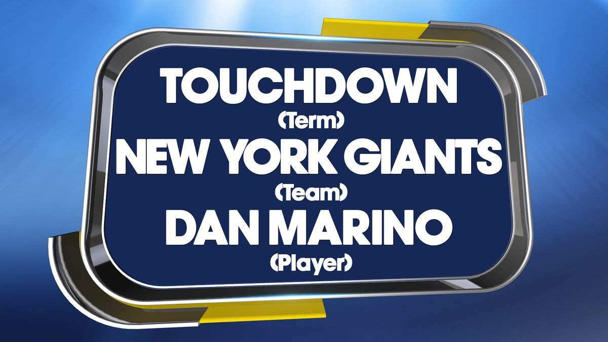 NAME GAME ANSWER 😍  Well done if you spotted the words are linked to @NFL 🏈   #QuestionofSport https://t.co/qzUGkxAmJT
