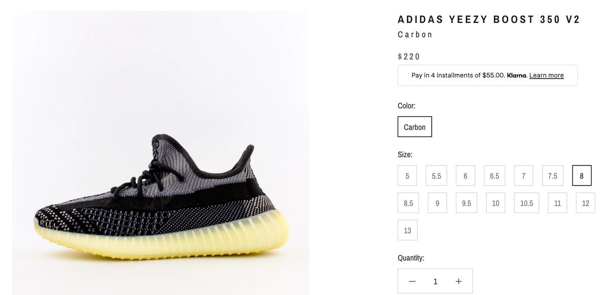 Solelinks On Twitter Ad Live Via Ycmc Adidas Yeezy Boost 350 V2 Carbon Https T Co 2qhx1jbts7 Solelinks is 10/10 and will not disappoint you. live via ycmc adidas yeezy boost 350 v2