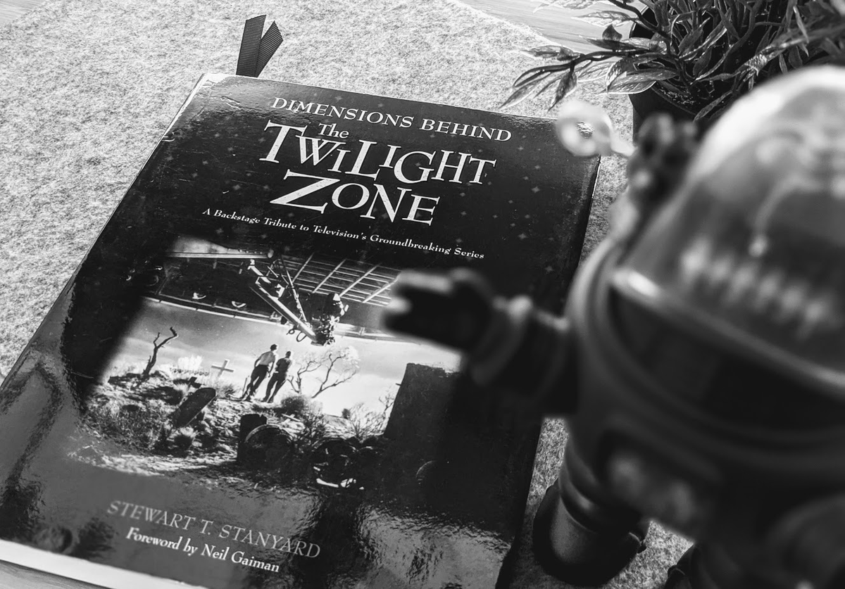 Happy 61st Birthday #TwilightZone! One of my all-time favorite and most influential TV series of all time!