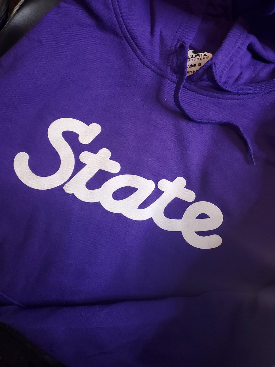 """Ok Cat fans. Score Predictions for @TexasTechFB vs @KStateFB  Top 3 closest predictions win a FREE """"State"""" Hoody AND a FREE """"State"""" T-shirt. Ready Go!"""