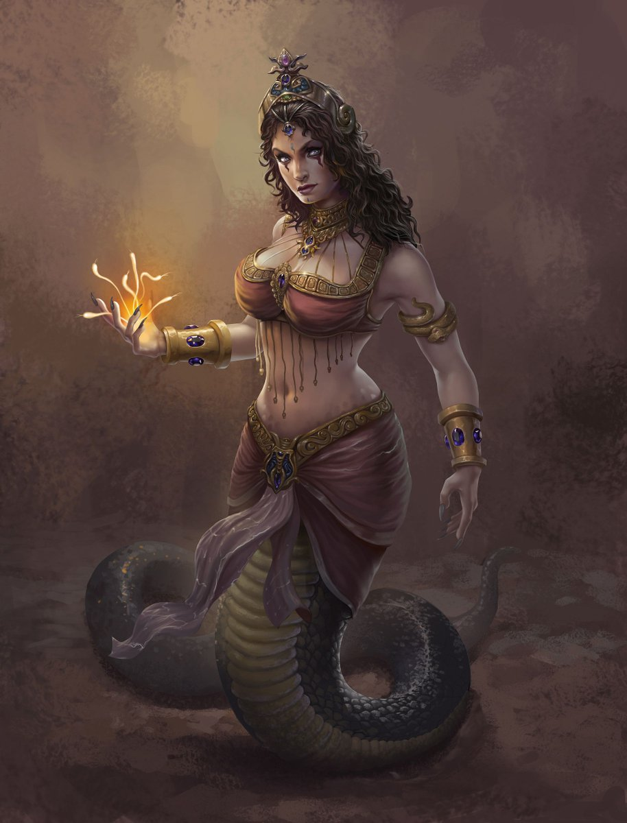 The Mythology Manifest On Twitter It Is Now Spooktober So I Shall Be Posting About Monsters From Mythology Echidna A Half Woman Half Snake In Greekmythology Known As The Mother Of Monsters