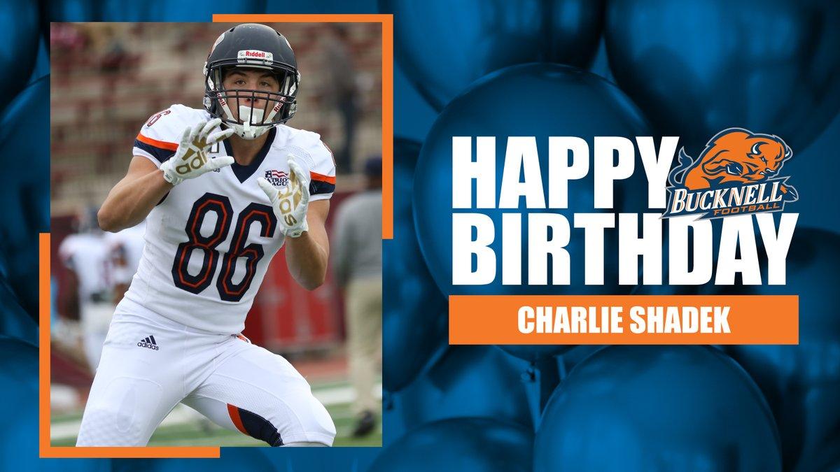 Happy birthday to Charlie Shadek! #ACT | #BisonFamily