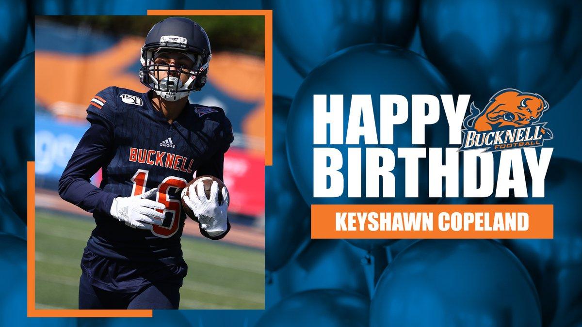 Happy birthday to Keyshawn Copeland! #ACT | #BisonFamily