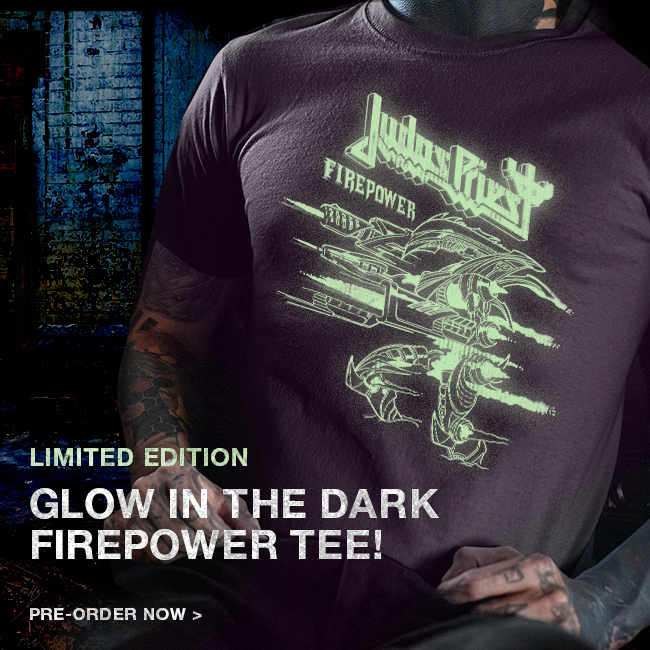 Limited Edition Glow in the dark Firepower tee! gtly.to/7rj30fcjF