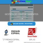 Image for the Tweet beginning: .@MyClassGame: plataforma de software libre