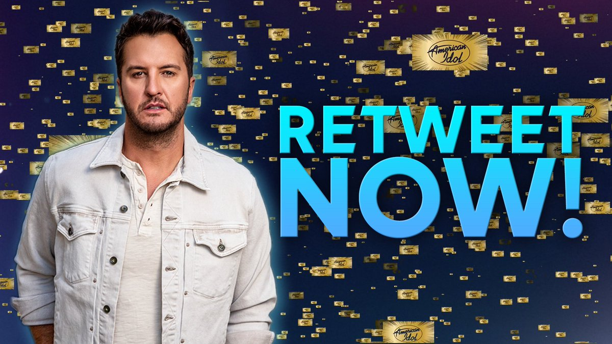 Good news, along with my nomination for Country Artist, #AmericanIdol could win #TheCompetitionShow at the #PCAs! If you retweet this, it counts as a vote! Hit that RETWEET button for us.