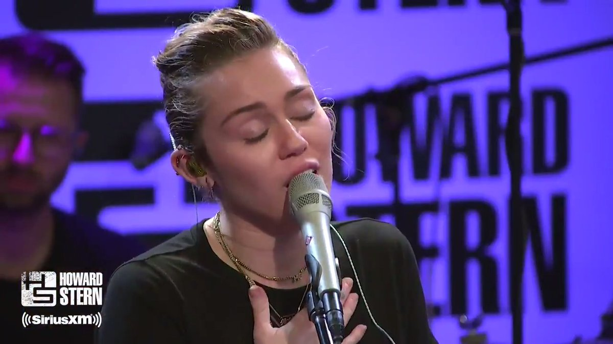 "@PopCrave @MileyCyrus Miley's cover of Tom Petty's ""Wildflowers"" is one of my favorites. #HappyBirthdayMiley #SternShow"