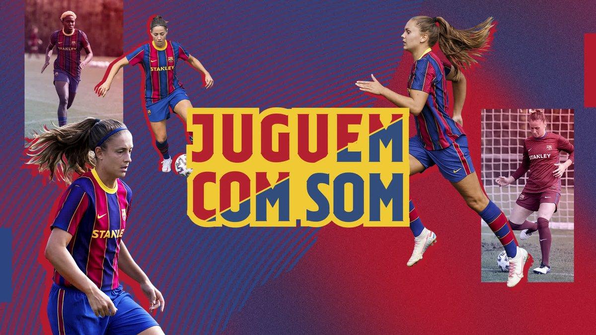 ⚽ JUGAMOS COMO SOMOS 👌 🔵🔴 La nueva campaña del Barça Femenino ya está aquí 👉  #ForçaBarça