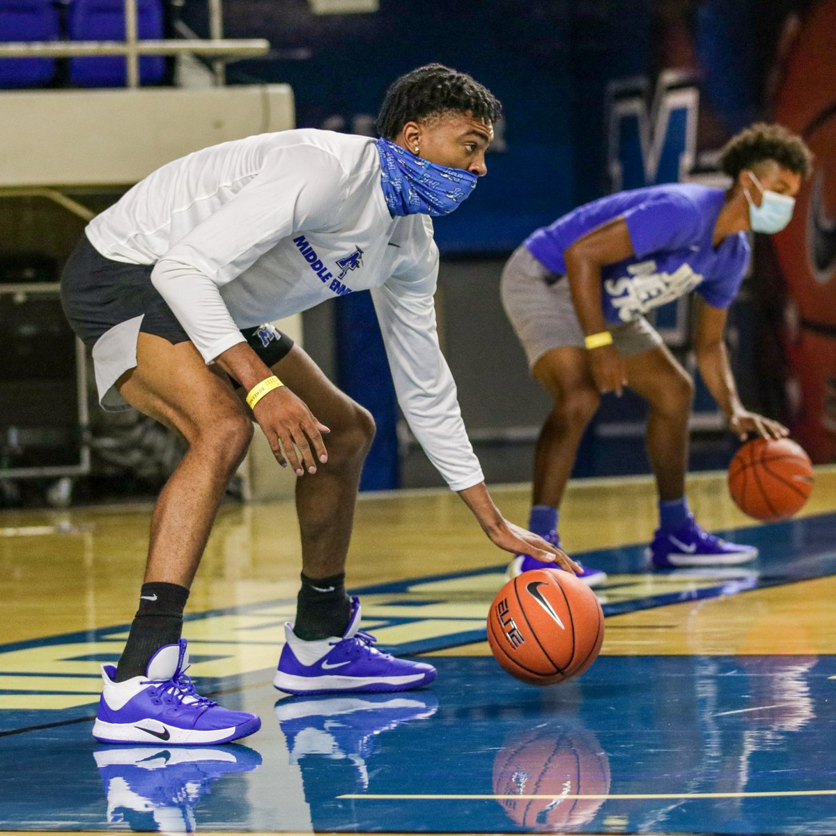 Mastering the craft 🏀  #BlueRaiders 🔵⚪️⚡️ https://t.co/Of0YOke91p