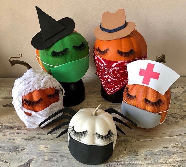Our squad celebrating Halloween this year knowing masks can't stop us from looking fabulous 🎃✌️ https://t.co/EtHZMR5Swr