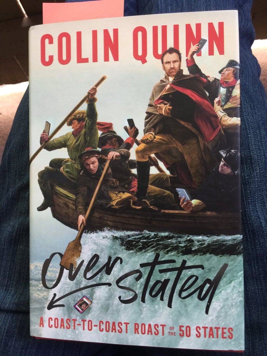 Hey, look what I'm reading @iamcolinquinn! Very funny and knowledgeable section on the Southwest. Your Fredricksburg family tailgating description made me belly laugh. #Overstated