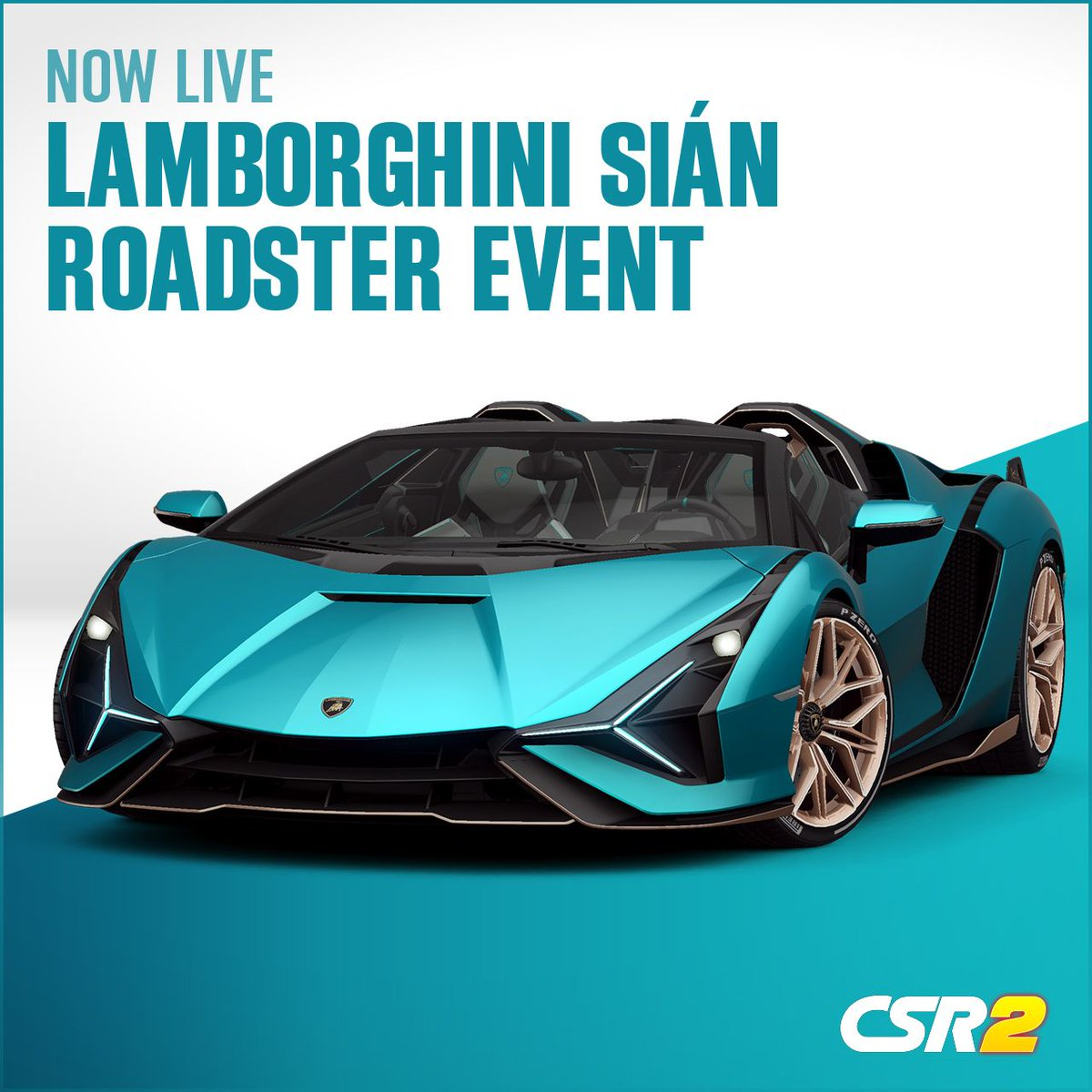 The Lamborghini Sián Roadster event is now live! Get down to the track and race some of the most incredible cars around. What is your favorite Lamborghini? #CSR2 https://t.co/OLT5WAPGKA