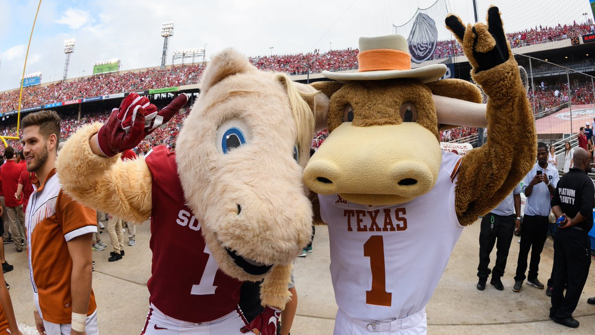 We are a little over a week away from the historic @RRShowdown! Who are you rooting for?!?  #HookEm🤘  #BoomerSooner☝️   #DallasBIGWins https://t.co/MpOJUhGZaF