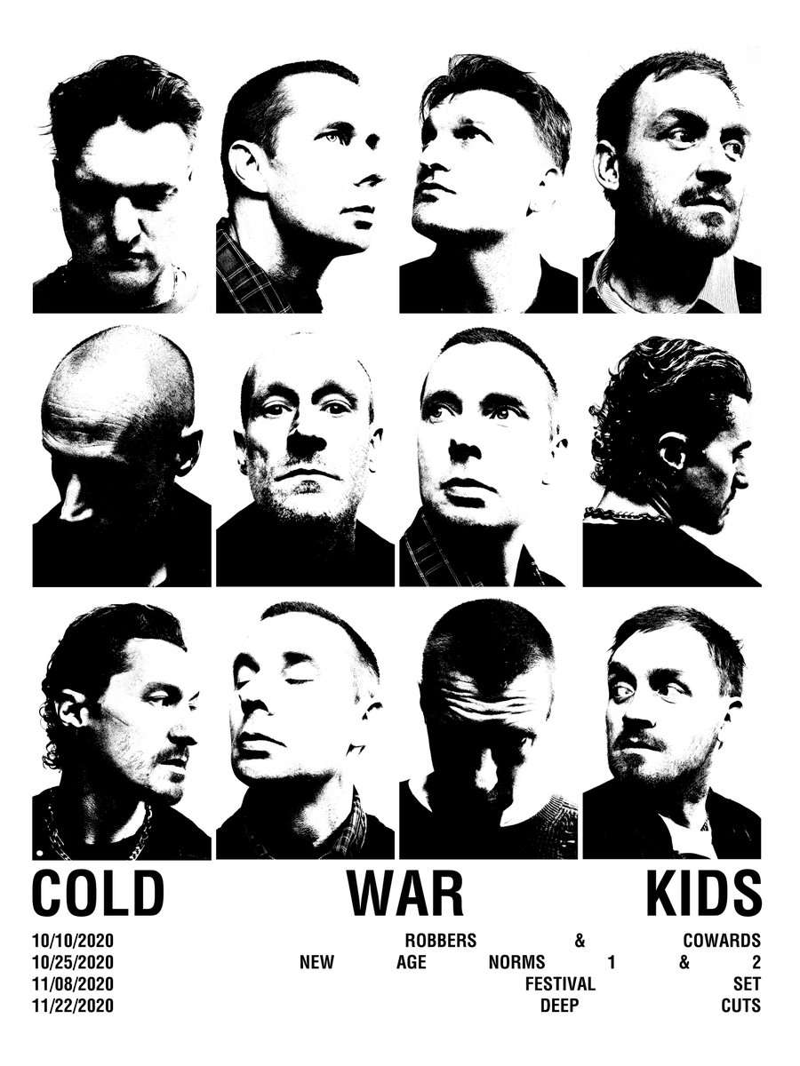 @ColdWarKids are going on tour (virtually)! Four unique shows with full band, full productions, and sets. Tickets are available now. Gets your here >>> https://t.co/EW3xG4uavn. https://t.co/HbfjN76tdI