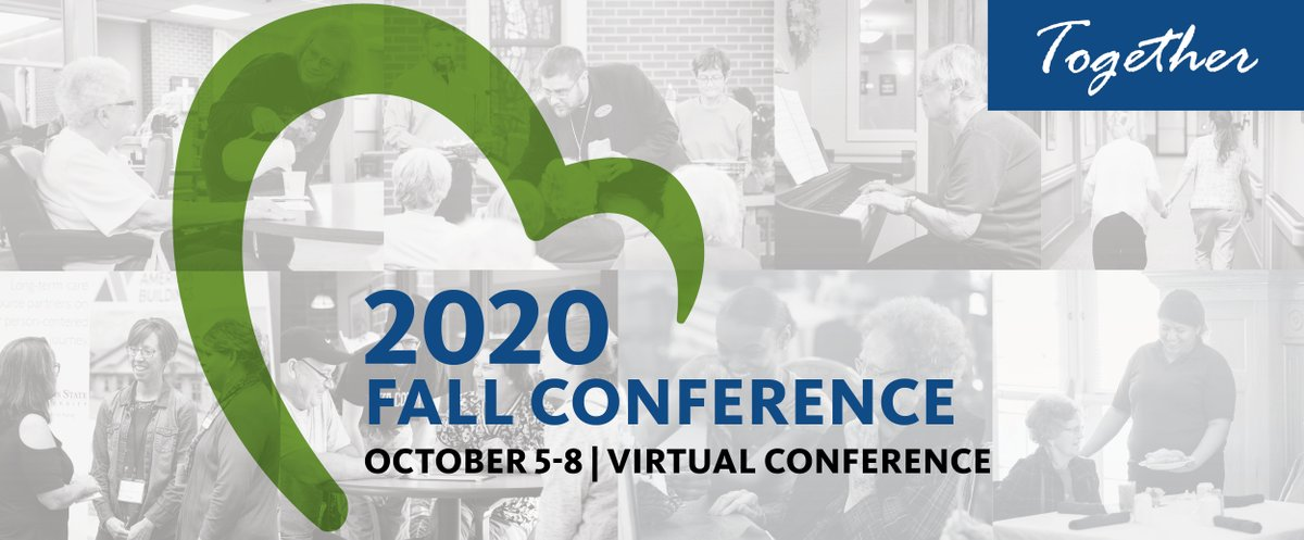 Get registered, get comfy, get connected! Join us at our Virtual Fall Conference next week October 5 - 8th. See you there! Register Today: https://t.co/dbaqOF1Wah https://t.co/ZYmlto2Htm