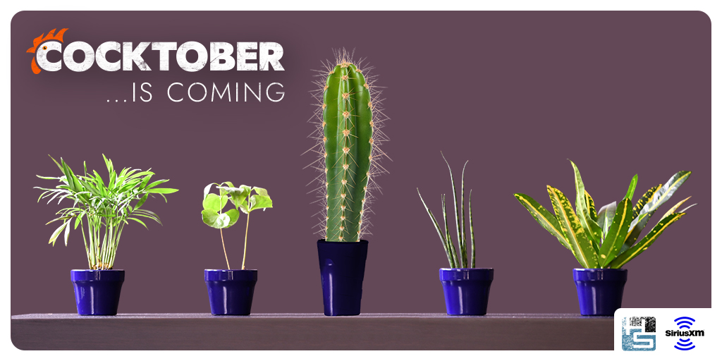 Attention grow-ers, show-ers, and everything in between: #Cocktober returns TOMORROW on #Howard100!