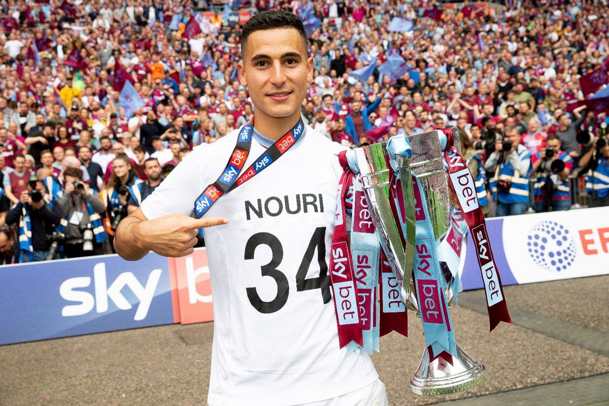 "Under A Gaslit Lamp on Twitter: ""He's obviously an emotional player. He  dedicated his goal and our Play-Off win to Abdelhak Nouri, a former  team-mate who suffered permanent brain damage. My winger.…"