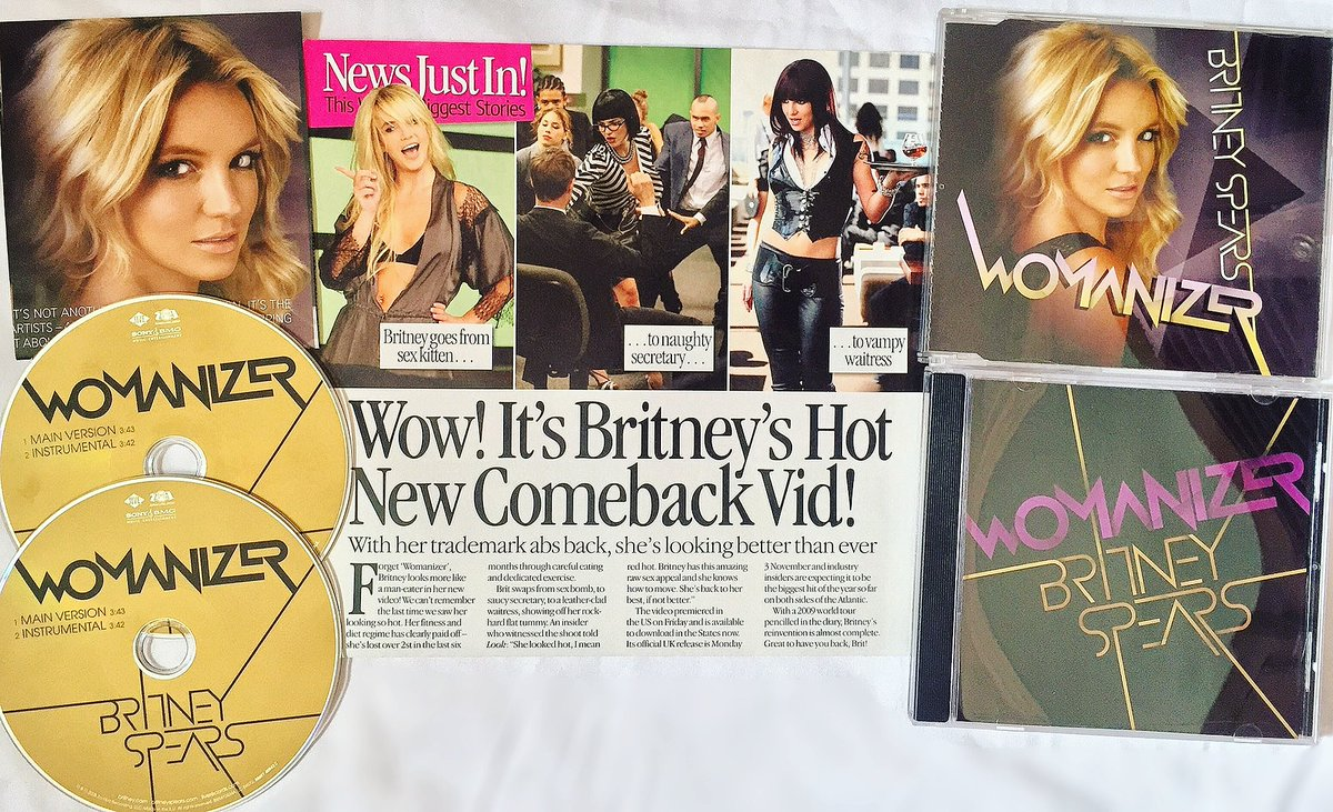 12 Years Ago @britneyspears single 'Womanizer' was released on October 3, 2008! #BritneySpears https://t.co/44Xx11bCfB