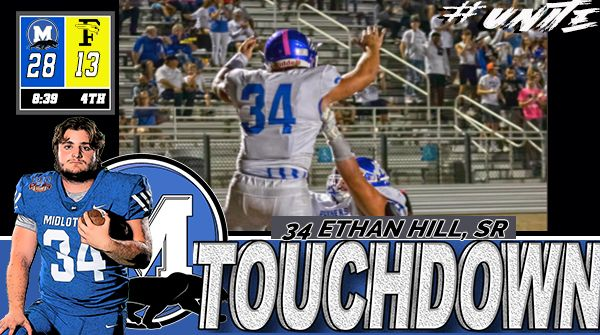 Mr. Hill does it AGAIN! That's 3 on the night! Panthers up 35-13.