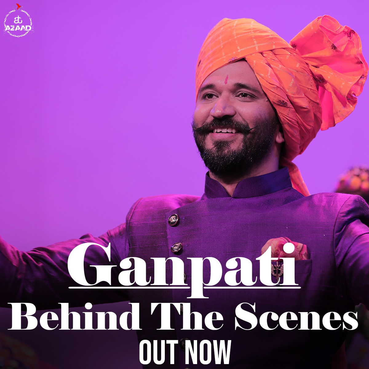 Taking you behind the scenes of 'Ganpati'. Shooting for this song was so energizing, as every beat transferred the positivity onto the sets. Check out the full video here: https://t.co/s5kLlAV9M6  #SongsofFaith #Ganpati #BehindTheScenes #AmitTrivedi #AmitTrivediMusic #ATAzaad https://t.co/IfrJ0zWFNx