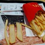 カットミス!?マクドナルドで太さの違うポテトを発見!商品化希望続出!