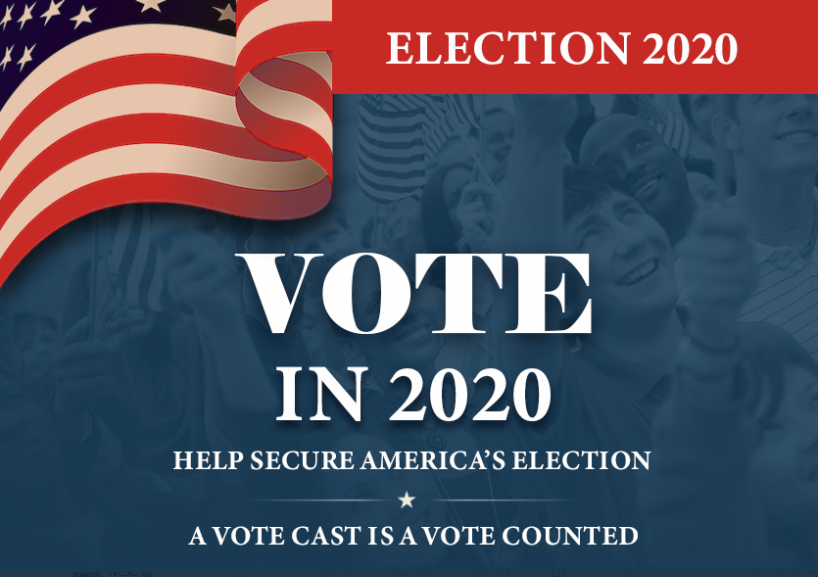 One month until #Election2020. Vote to secure our democracy. Vote to send a message to foreign adversaries trying to influence our election: WE will determine our elected officials, not them.
