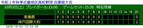 野球 高校 兵庫 速報 県