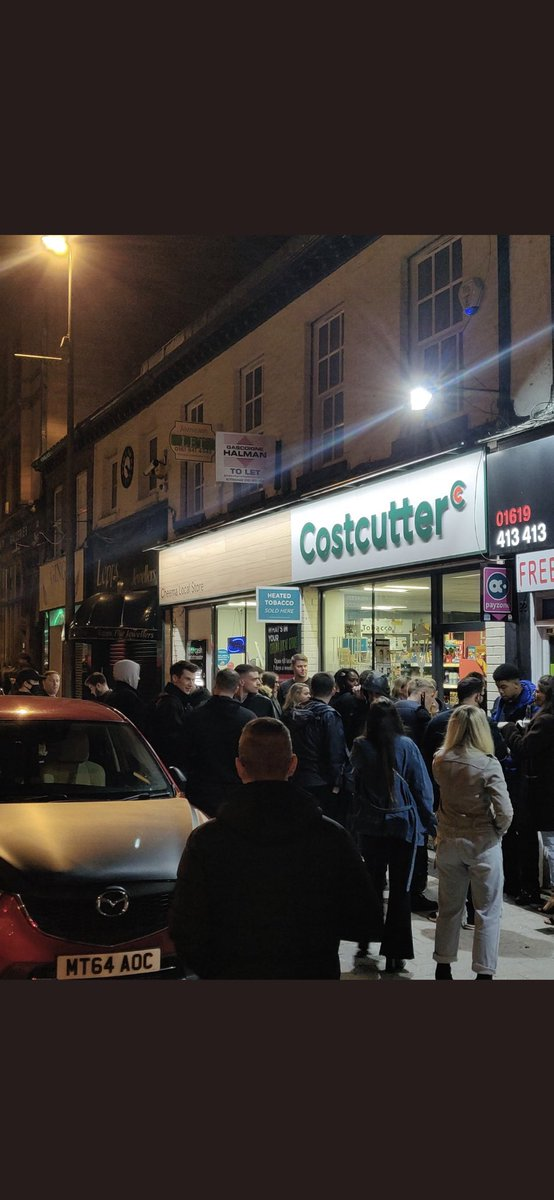 """10pm last night, Altrincham. What part of """"you need to listen and work with the industry"""" do the Government not get? This curfew is causing more harm than help, on many levels."""