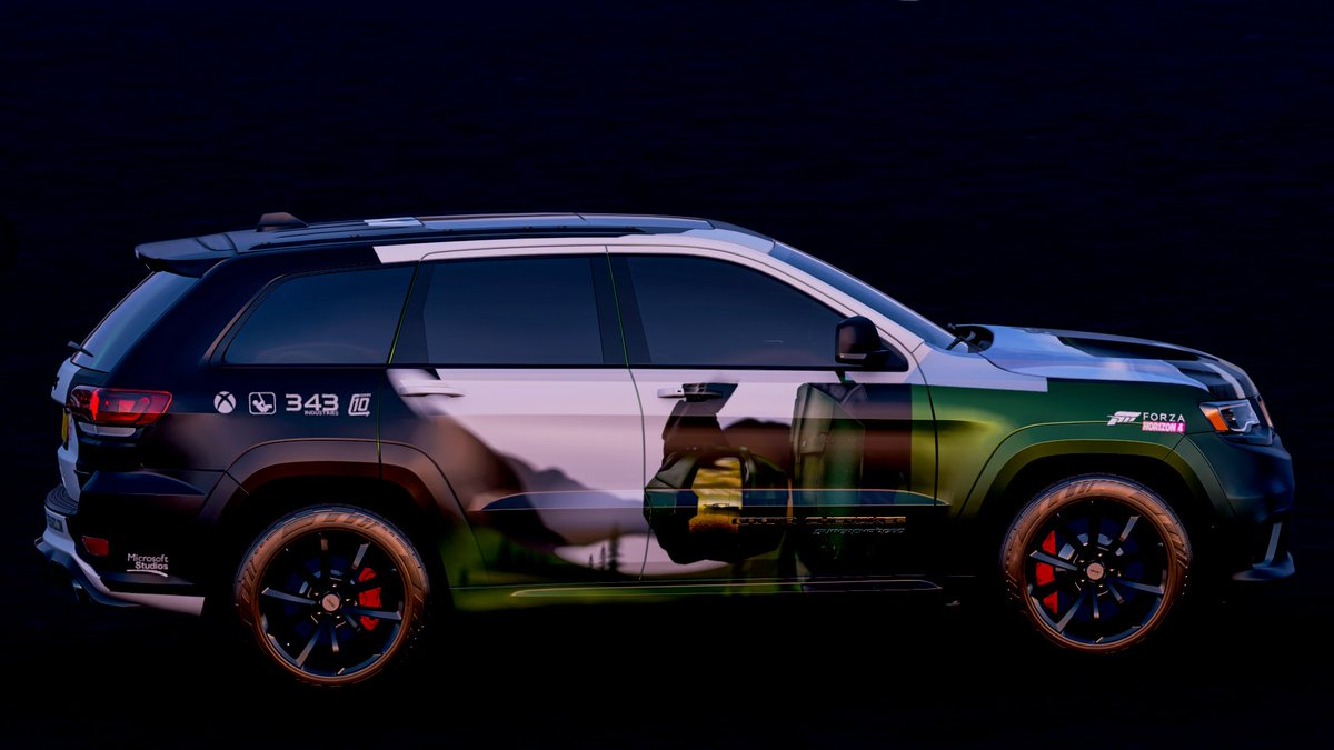 Car 542 - 2018 Jeep Grand Cherokee Trackhawk  Design by PTG Stuzib85   #ForzaHorizon4 #ForzaShare #Xbox #Forza #HorizonPromo https://t.co/X84IBKWwKV
