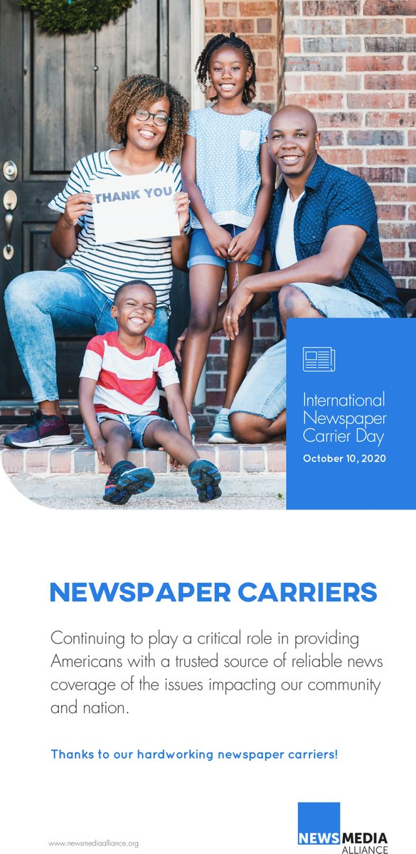 Our carriers deliver the news each morning to driveways and doorsteps across the Lakelands. Thank you for your hard work!  #InternationalNewspaperCarrierDay #NationalNewspaperWeek https://t.co/L0RIxa2NYa