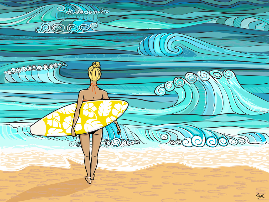 The warm weather is here! Thanks to our wonderful and talented student Sarah for this amazing illustration @studio_sare  #vocalcoach #singers #musicians #singinglessons #singing #singingwarmups #warmups #onlinelessons  #summer #beach #waves #illustrator https://t.co/9TpQx7Ou6P