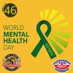 Image for the Tweet beginning: It is World Mental Health
