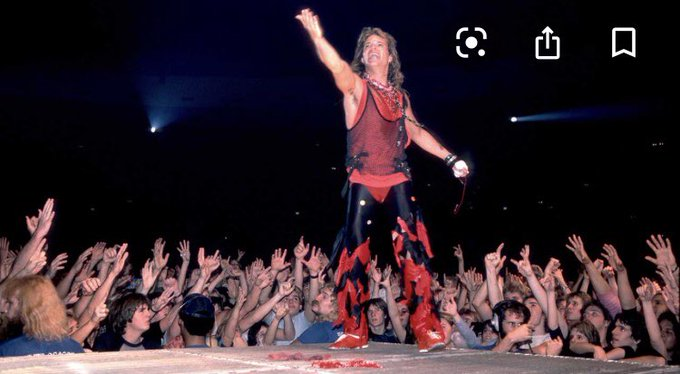 Happy 66th Birthday to Van Halen lead singer David Lee Roth