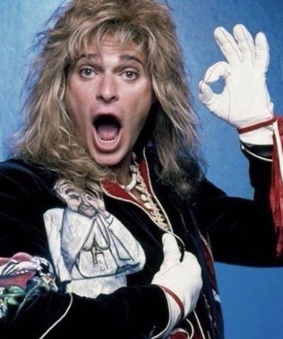 Happy Birthday to Van Halen s former frontman, David Lee Roth!