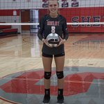 Image for the Tweet beginning: CONGRATS to #8 Kassie Stine