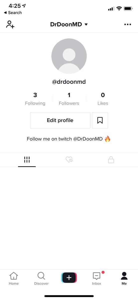 DrDoonMD - I made a tik tok!! Come follow me 🥰