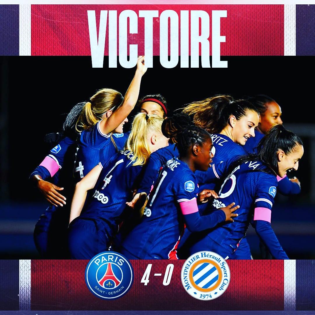 😁 Katoto with the brace in today's Win #D1Arkema #PSG_Feminines  image credit: #PSG_Feminines #PSG https://t.co/BIpfOGf6cY