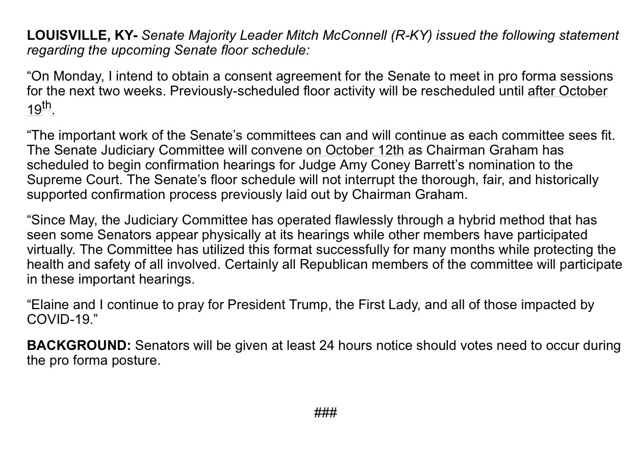 Leader McConnell on Twitter