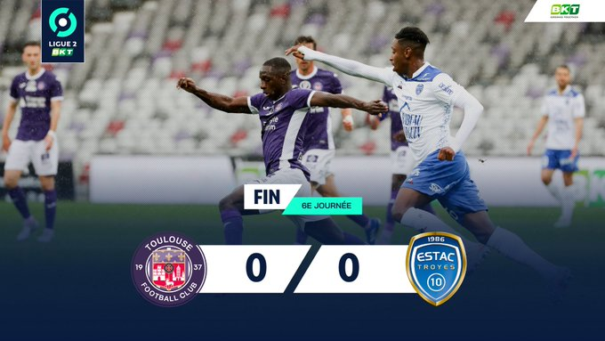 Toulouse Troyes Ligue 2