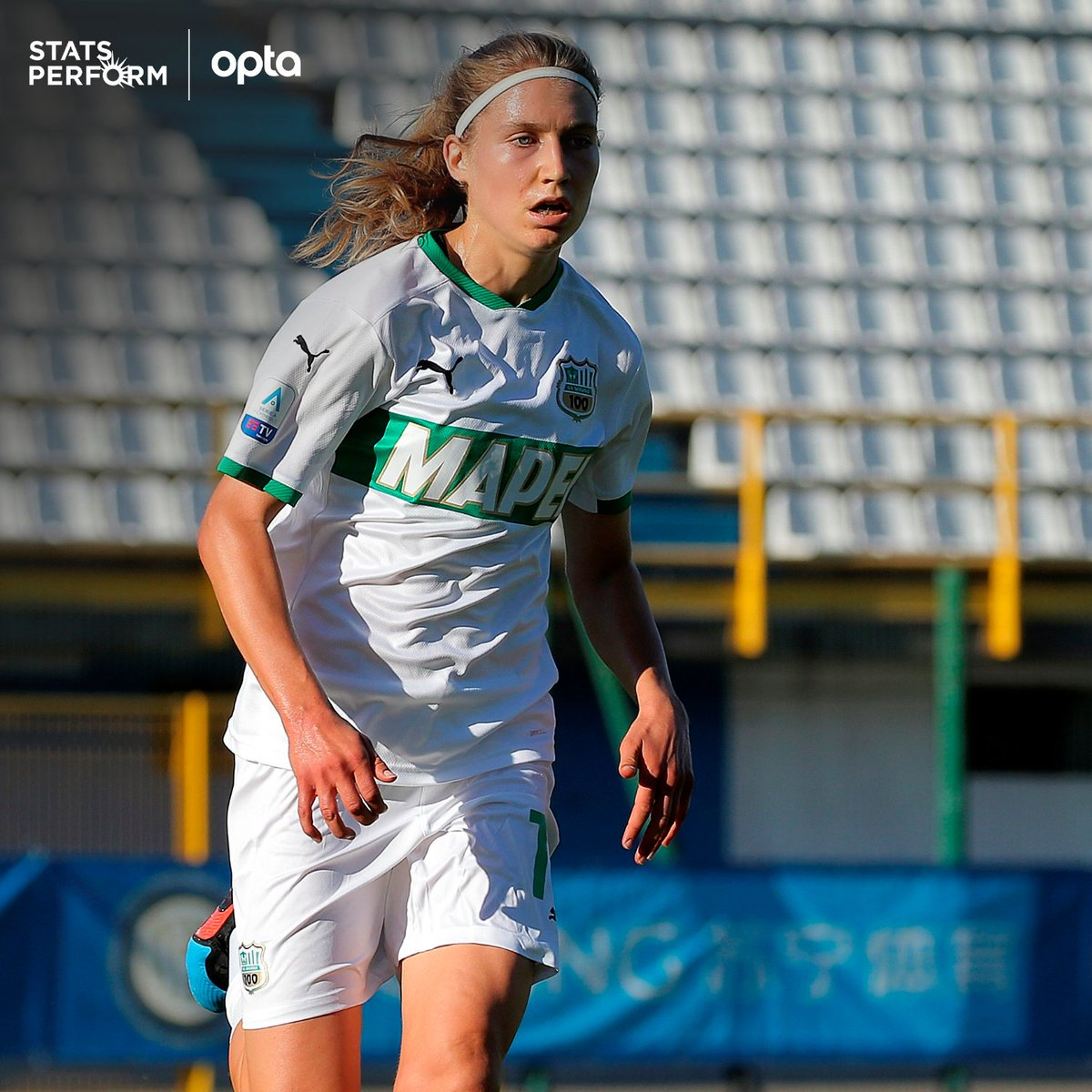 "OptaPaolo on Twitter: ""8 - Kamila Dubcova 🇨🇿 has been directly involved  in eight goals in Women Serie A current season, more than any other player.  Fury. #SassuoloFiorentina… https://t.co/JxpyVTz4rL"""
