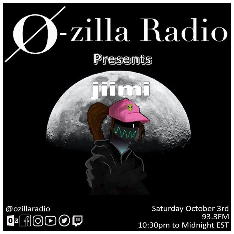 Tonight we are hosting a fellow Ozilla Radio member and local artist @officialjiimi to play a mix on our decks here at @OzillaRadio!!   It is jiimi's first time doing a radio mix and needless to say she is stoked! Tune in for a night of deep techno and ethereal vibes. 🖤 https://t.co/t4TyICC2Dw
