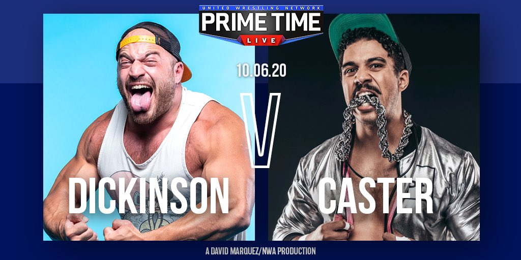 Chris Dickinson Vs. Caster Added To Tuesday's UWN Primetime Live