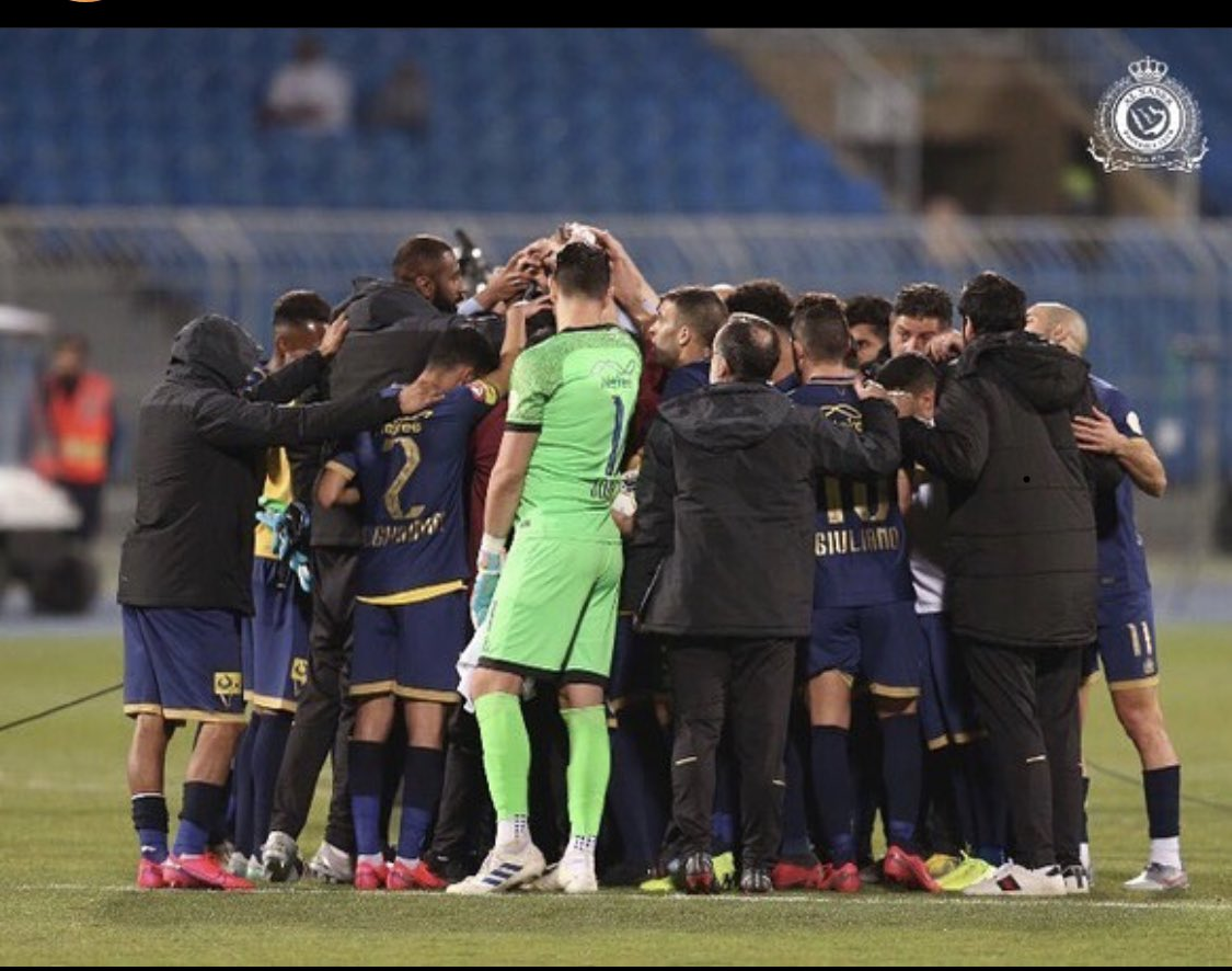 Not winning the game today is just part of our growth. We will come out better next time. Cheer up Mates and to our dear fans, we will come back better and stronger. 🙏💪🟡🔵 @AlNassrFC @AlNassrFC_EN