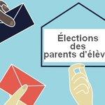 Image for the Tweet beginning: Élection des représentants des parents