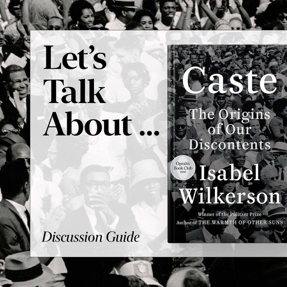 .@IsabelWilkerson, Pulitzer Prize winning novelist, wrote this incredible book that we all must read! https://t.co/UkKvJlVQxQ