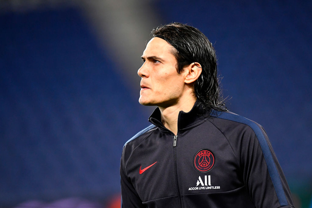 Man United Edinson Cavani To Wear Seven Number Shirt Football Shoot