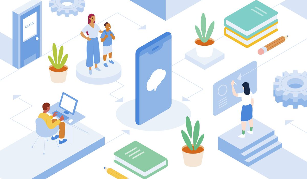 Whether you are in the building or at home—or, some combination of the two—Remind can help you make sure students keep learning. Check out this resource about using the Remind plan for distance and blended learning. https://t.co/qsc0Sw8IDp https://t.co/wADB9jVF9U